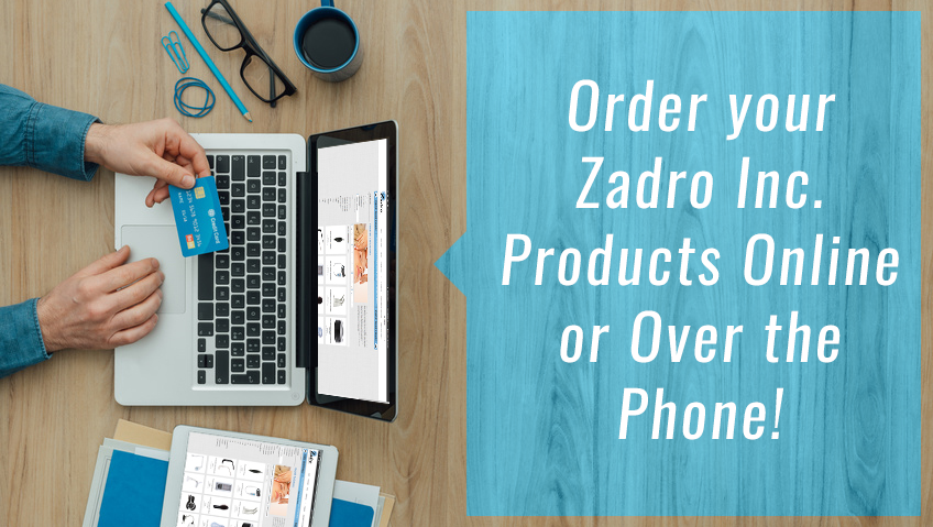 Order your Zadro Health Solutions Products Online or By Phone!